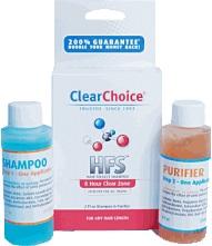 clear choice detox shampoo