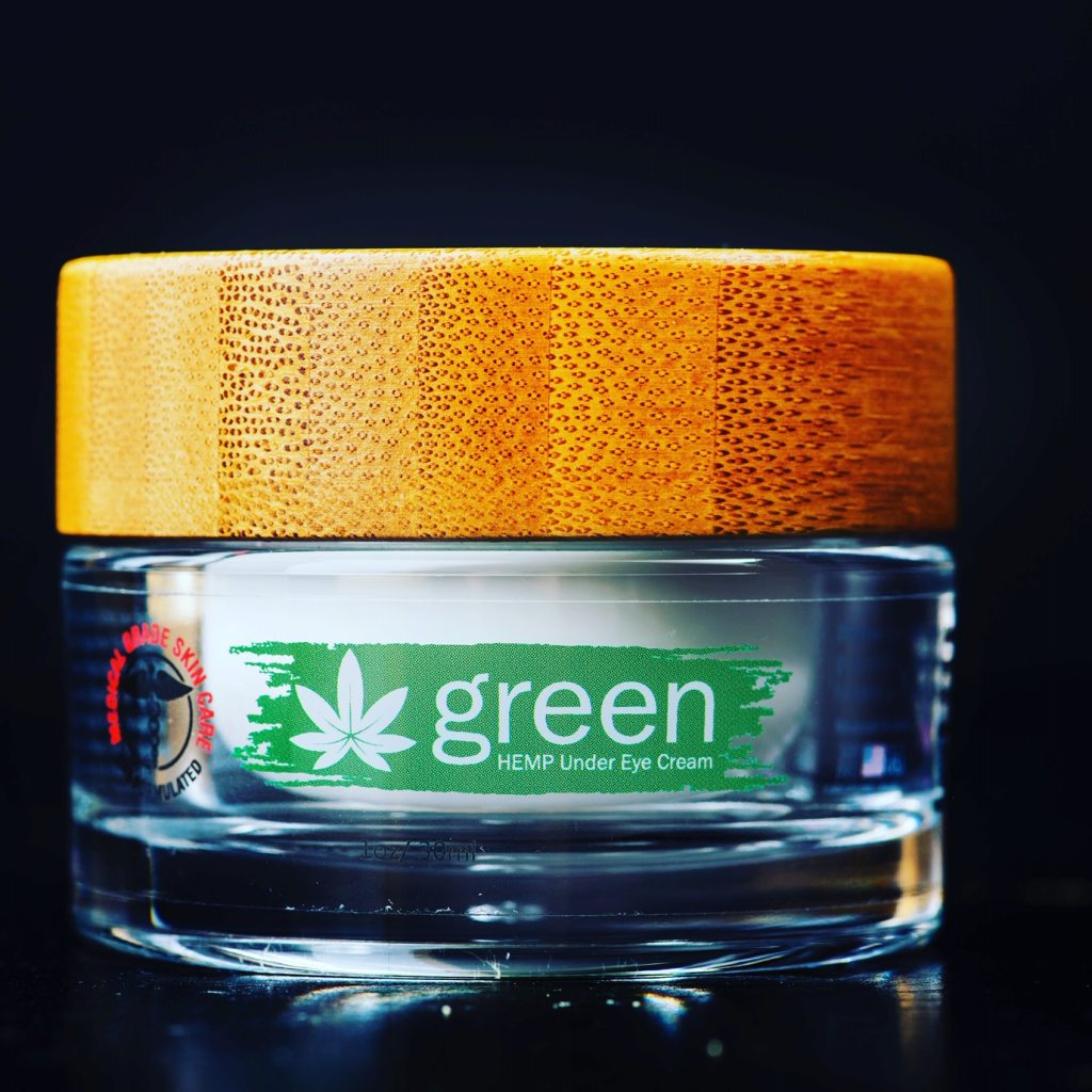 eye cream with hemp oil