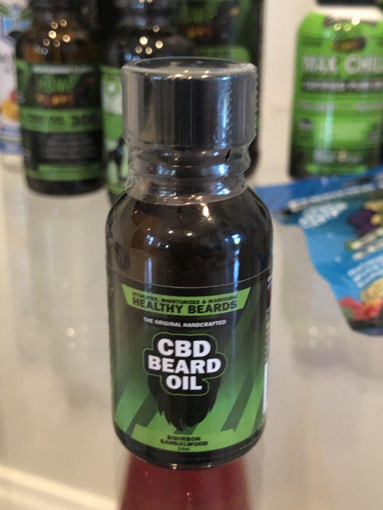 Hemp Bombs Beard Oil