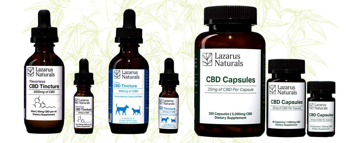 Lazarus Naturals CBD Oil Review & Coupon Code for 2019