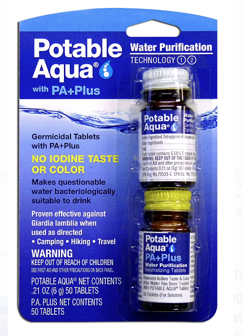 Pleasing Potable Aqua Water Purification Tablets Review And Analysis Download Free Architecture Designs Xoliawazosbritishbridgeorg