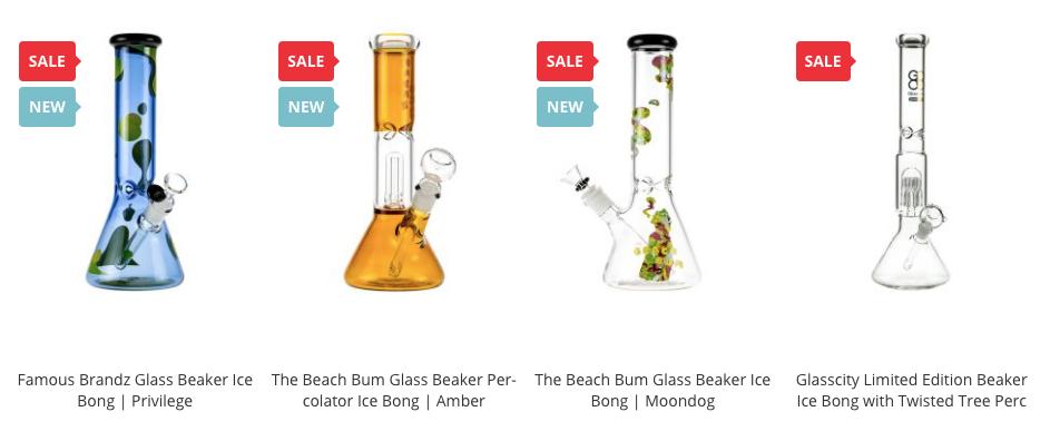 cheap ice bongs